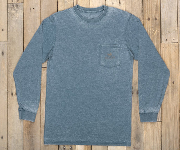 Southern Marsh Seawash Tent Long Sleeve T-Shirt-Slate