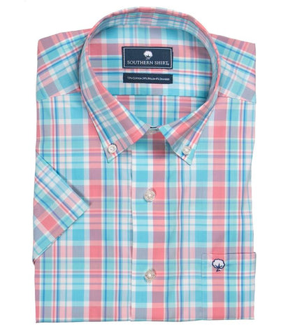 Southern Shirt Company Ballyhoo Plaid Button Down Shirt-Snapper