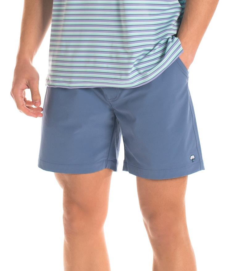 Southern Shirt Co Mens Nomad Shorts-Bayou Blue