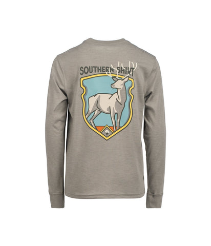 Southern Shirt Company Boys Buck Fever Long Sleeve tee -Shop Bennetts Clothing for the best styles of the clothing you want