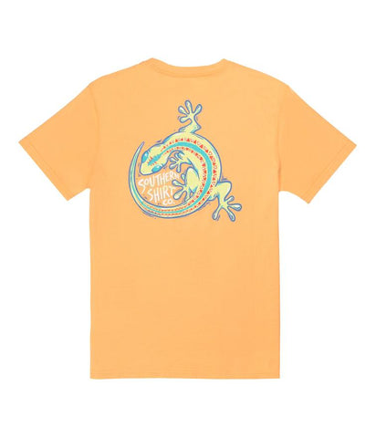 Southern Shirt Company Youth Glowing Gecko Tee-Bluff