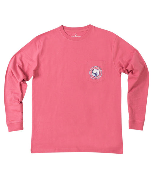 Southern Shirt Company Patch Escape The Ordinary Tee-Rapture Rose
