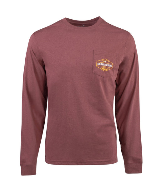 Southern Shirt Co Dawn Till Dusk Long Sleeve Tee-Wild Ginger