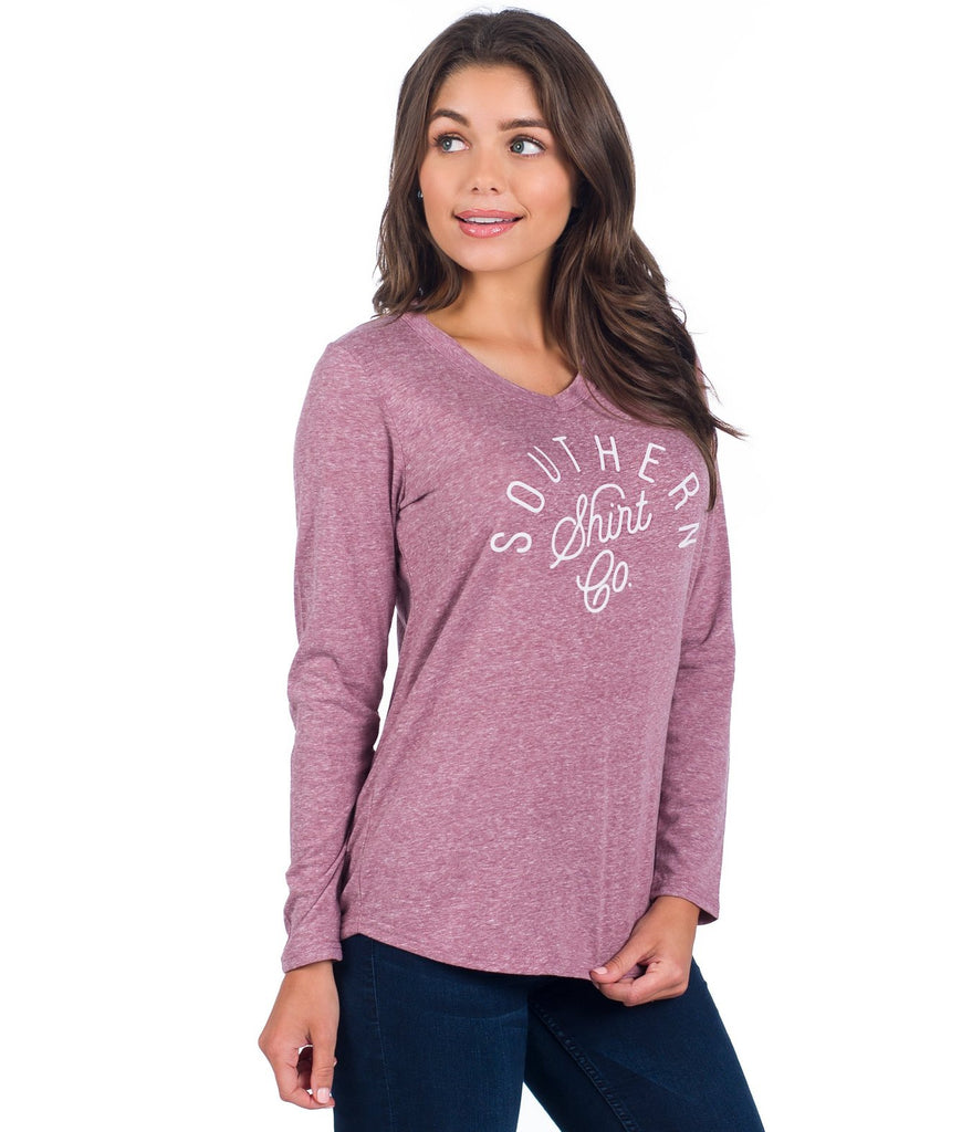 Southern Shirt Co. Velveteen V Neck Pullover -Shop Bennetts Clothing for the best styles of the clothing you want