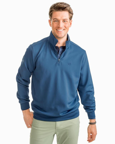 Mens Southern Tide Performance 1/4 Zip Pullover -Shop Bennetts Clothing for the best name brand menswear and same day shipping