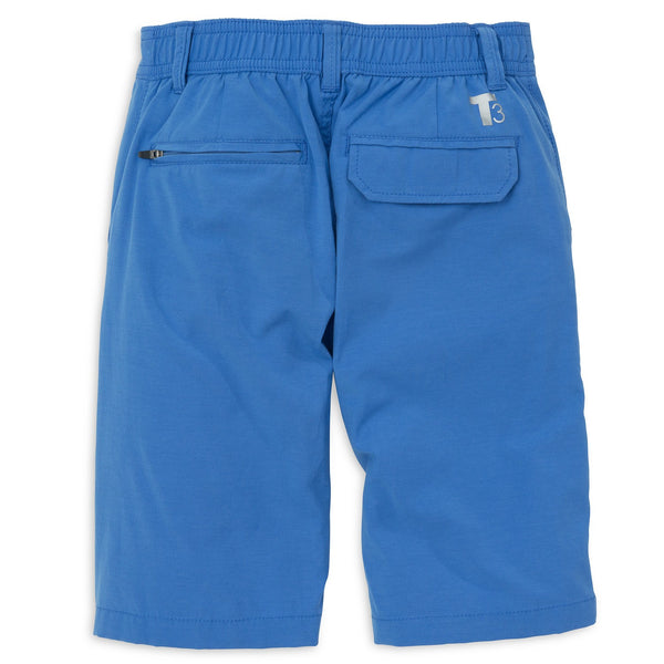 Southern Tide Boy's Tide to Trail Short-Royal Blue