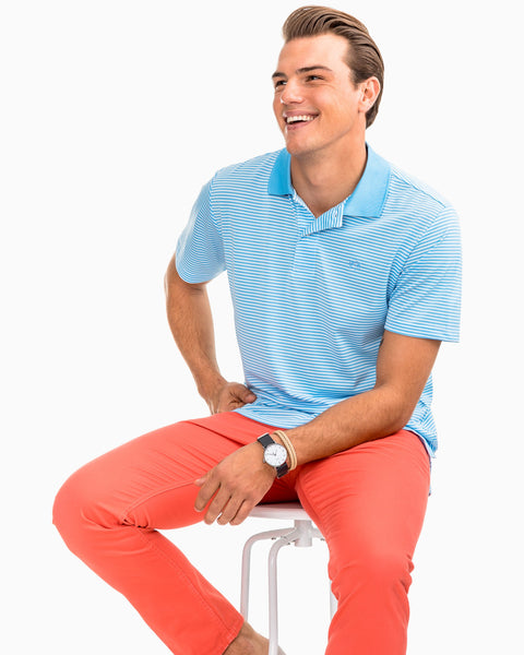 Southern Tide Performance Golf Polo -Shop Bennetts Clothing for the latest in mens trendy clothing