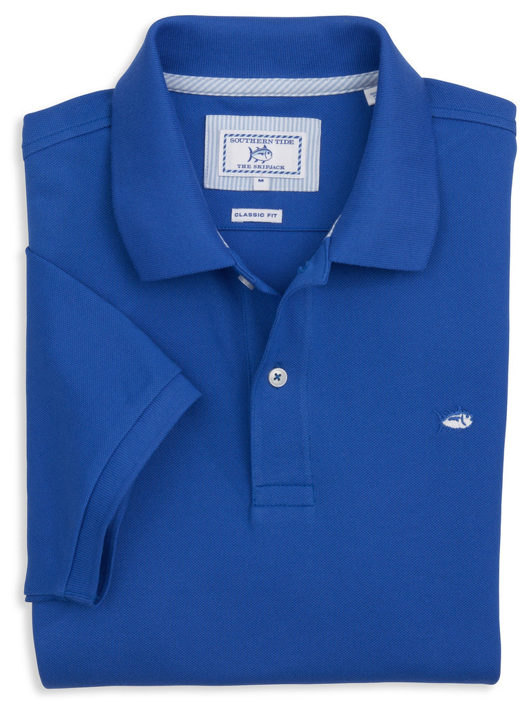 Southern Tide Skipjack Polo-Royal Blue - Bennett's Clothing - 1