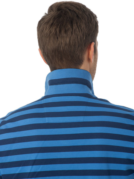 Southern Tide Stripe Skipjack Polo-Yacht Blue - Bennett's Clothing - 3