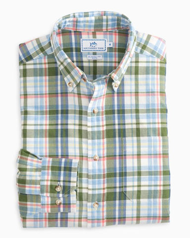 Southern Tide Westlake Plaid button downs -Shop Bennetts Clothing for a large selection of name brand menswear
