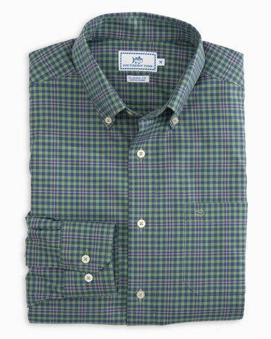 Southern Tide Gingham Sport Shirts -Shop Bennetts Clothing for a large selection of preppy menswear