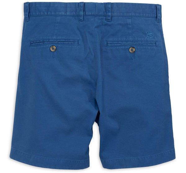 "Southern Tide 7"" Skipjack Short-Blue Cove - Bennett's Clothing - 2"