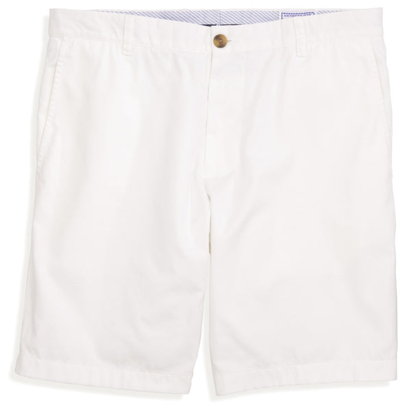 "Southern Tide 9"" Skipjack Short-White - Bennett's Clothing - 2"