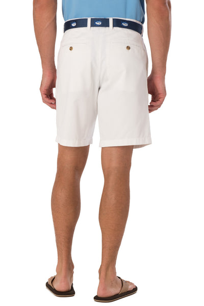 "Southern Tide 9"" Skipjack Short-White - Bennett's Clothing - 3"