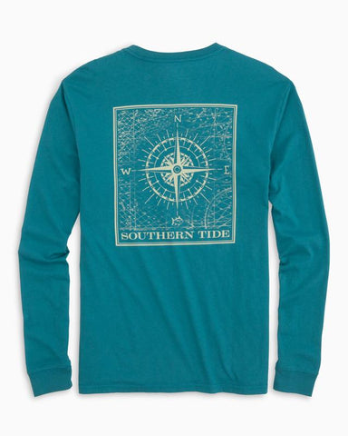Southern Tide Southern Compass T-shirt -Shop Bennetts Clothing for a large selection of name brand menswear