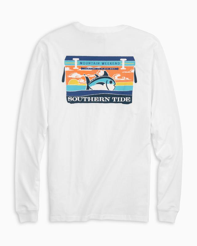 Southern Tide Mountain Weekend Cooler Tee -Shop Bennetts Clothing for the best in menswear with same day shipping