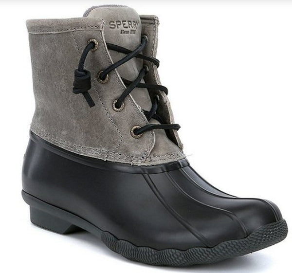 Cute and warm! The Sperry Top-Sider Saltwater Duck Boot for women -Shop Bennetts Clothing for a large selection of name brand outdoor wear.