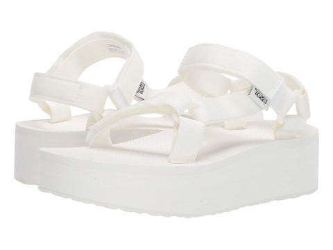 Teva Flatform Universal sandal in White will elevate your wardrobe this season. Shop Bennetts Clothing for the brands you love with same day shipping.