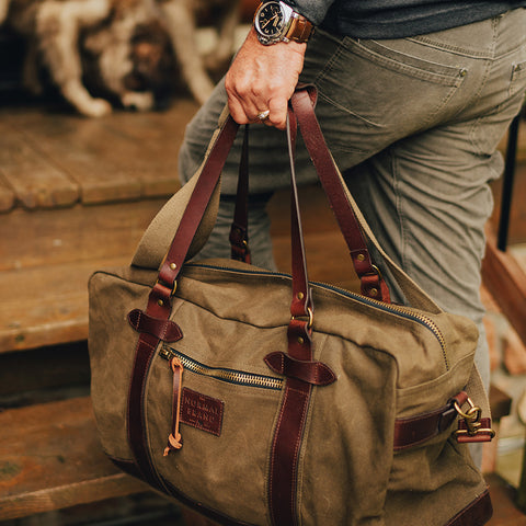 The Normal Brand Senior Travel Bag is rugged and ready for your next adventure. Shop Bennetts Clothing for the best name brands and receive same day shipping