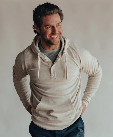 The Normal Brand Puremeso Hoodie is so soft and looks great layered or worn alone. Shop Bennetts Clothing and receive same day shipping