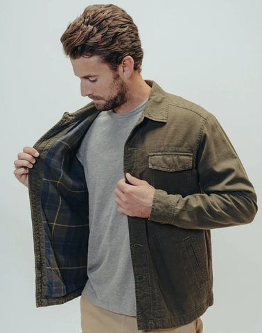 The Normal Brand Military PTO flannel shirt jacket  is rugged and ready for your next adventure. Shop Bennett's Clothing for the best name brands with same day shipping to your front door.