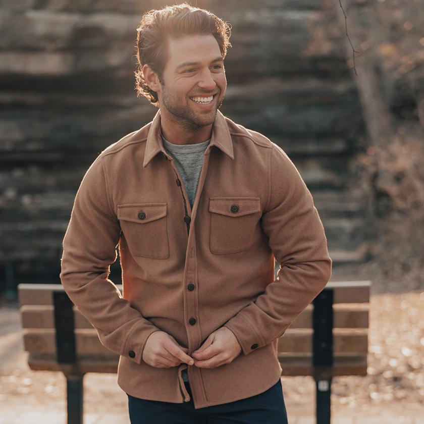 The Normal Brand Senior Wool Shirt Jacket is rugged and ready for your next adventure. Shop Bennetts Clothing for the best name brands and receive same day shipping