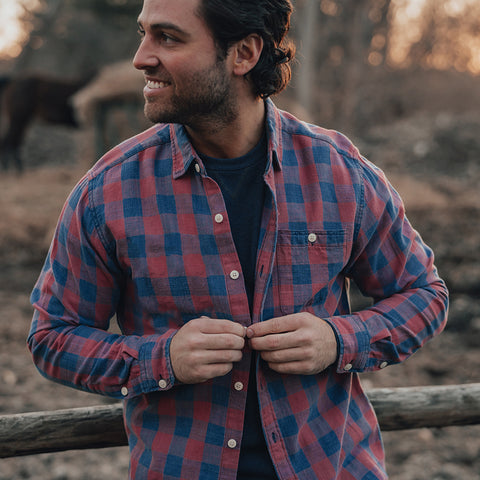 The Normal Brand Vintage Buffalo button up shirt feels and looks awesome. Shop Bennetts Clothing and receive same day shipping