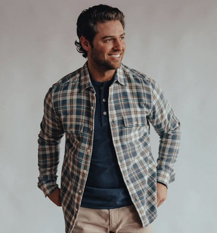 The Normal Brand Mountain Overshirt is rugged and ready for your next adventure. Shop Bennett's Clothing for the best name brands with same day shipping to your front door.