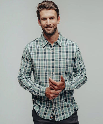 The Normal Brand Nikko Plaid Button up is so soft and looks great layered or worn alone, dressed up or down. Shop Bennett's Clothing for the brands you want shipped same day to your front door.
