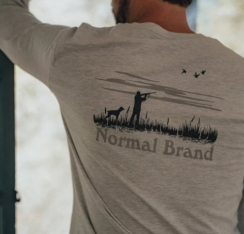 The Normal Brand Hunt long sleeve tee is so soft and looks great layered or worn alone. Shop Bennetts Clothing and receive same day shipping