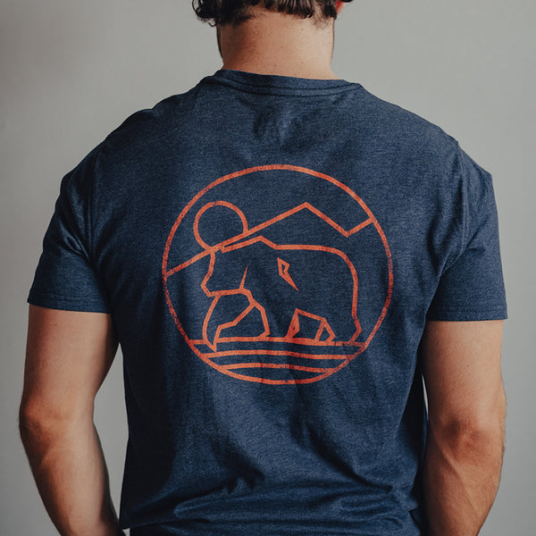 The Normal Brand Mountain Bear long sleeve tee is so soft and looks great layered or worn alone. Shop Bennetts Clothing and receive same day shipping