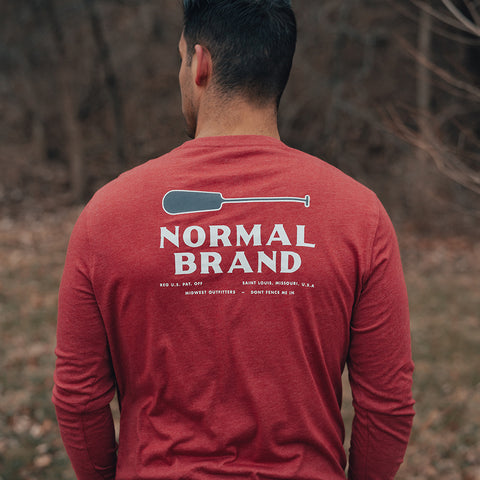 The Normal Brand Paddle long sleeve tee is so soft and looks great layered or worn alone. Shop Bennetts Clothing and receive same day shipping