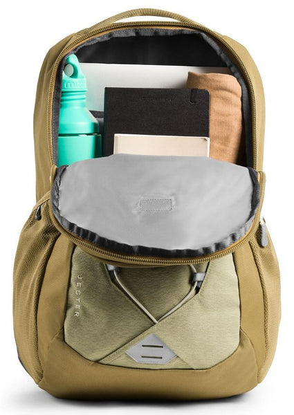 The North Face Women's Jester Backpack-Twill Beige Splinter-British Khaki