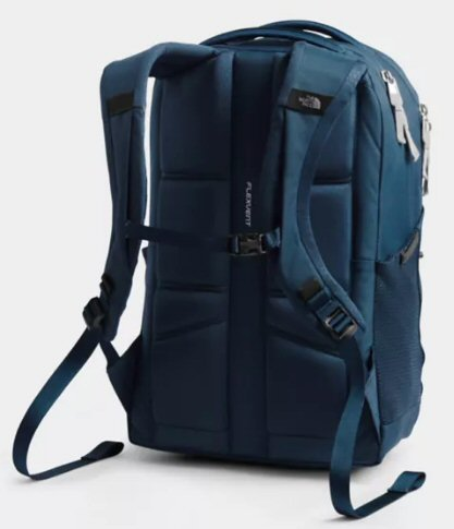 The North Face Women's Jester Backpack-Blue Wing Teal-Tin Grey