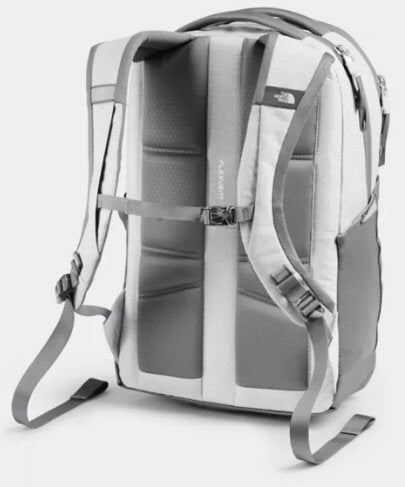The North Face Women's Jester Backpack-White Metallic Melange-Mid Grey