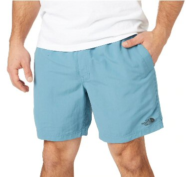"The North Face Men's 7"" Class V Pull-on Short-Storm Blue"