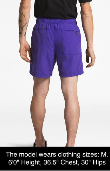 "The North Face Men's 5"" Class V Pull-on Short-Aztec Blue"