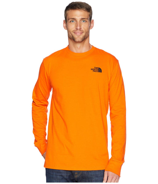 The North Face Long Sleeves Red Box T-shirt -Shop Bennetts Clothing for North Face to fit the whole family