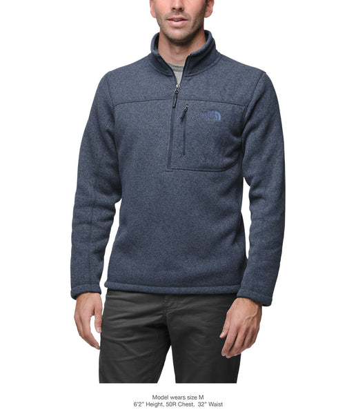 The North Face Mens Gordon Lyons 1/4 Zip Pullover-Urban Navy