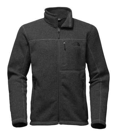 The North Face Mens Gordon Lyons Full Zip Jacket-Dark Grey Heather