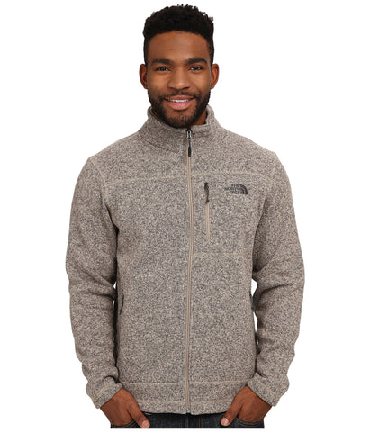The North Face Mens Gordon Lyons Full Zip-Dune Beige - Bennett's Clothing - 1