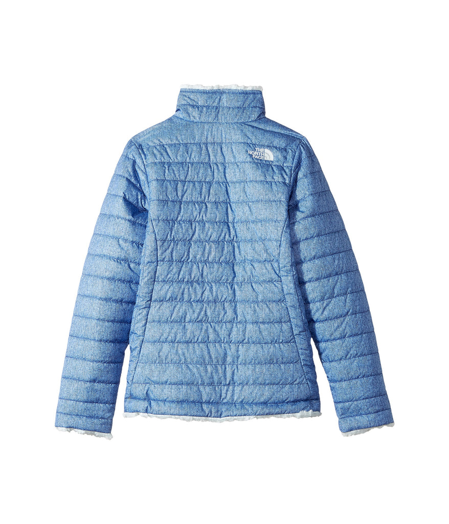 008d8f1c676d The North Face Girls Reversible Mossbud Swirl Jacket-Bright Navy ...