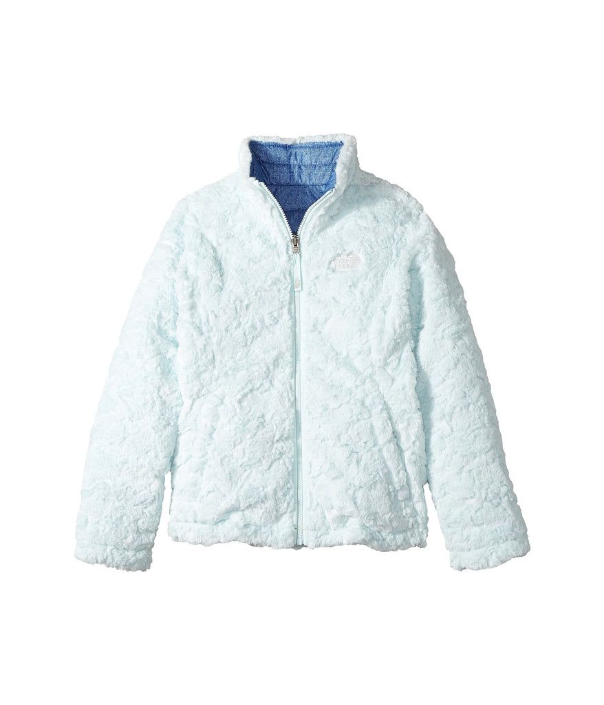 7ec6cfaee The North Face Girls Reversible Mossbud Swirl Jacket-Bright Navy-White