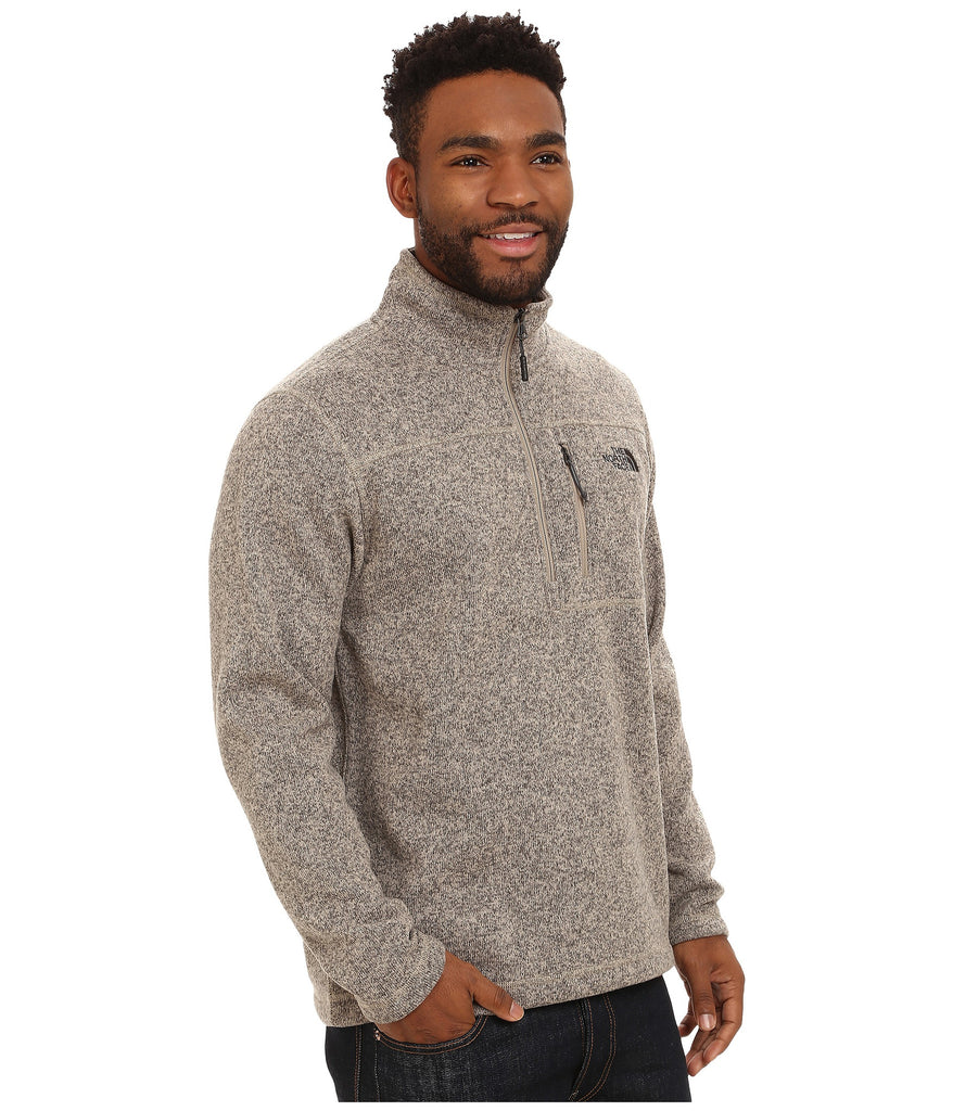 the north face mens gordon lyons 1 4 zip pullover dune beige bennett 39 s clothing. Black Bedroom Furniture Sets. Home Design Ideas