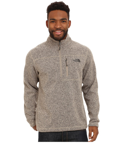 The North Face Mens Gordon Lyons Quarter Zip Pullover-Dune Beige - Bennett's Clothing - 1