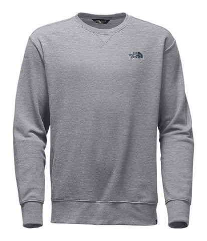 The North Face Men's Half Dome Crew Sweatshirt-Light Grey