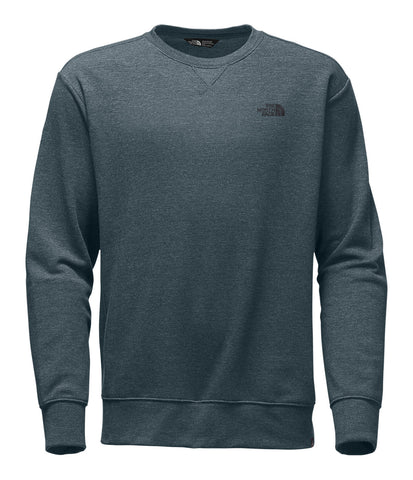The North Face Men's Half Dome Crew Sweatshirt-Silver Pine Green