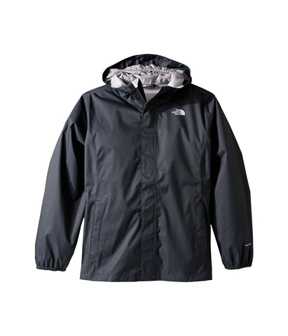 The North Face Boys Resolve Reflective Rain Jacket-TNF Black