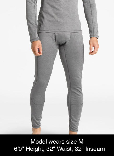 The North Face Thermal Baselayer Tights-Zinc-Grey Heather