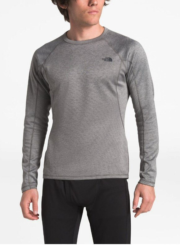 The North Face Thermal Baselayer Long Sleeve Warm Tee-Zinc-Grey Heather